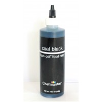 CHEFMASTER LIQUA GEL - COAL BLACK
